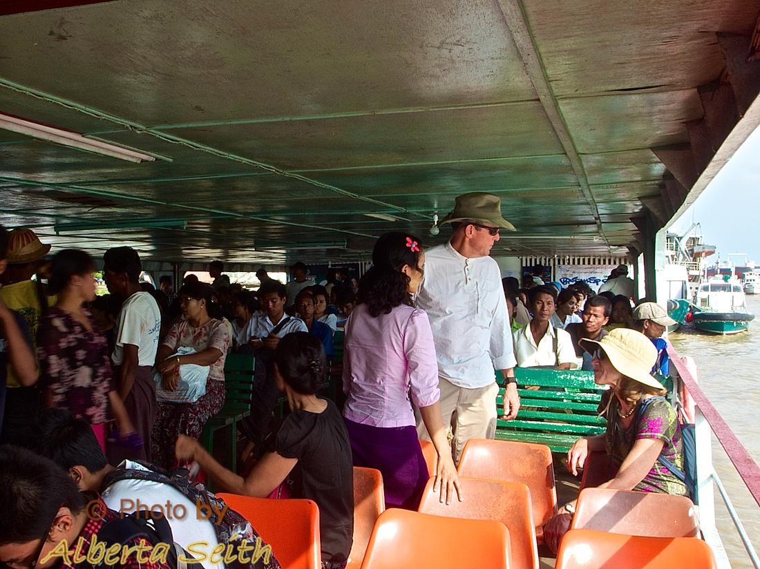 Yangon River Ferry