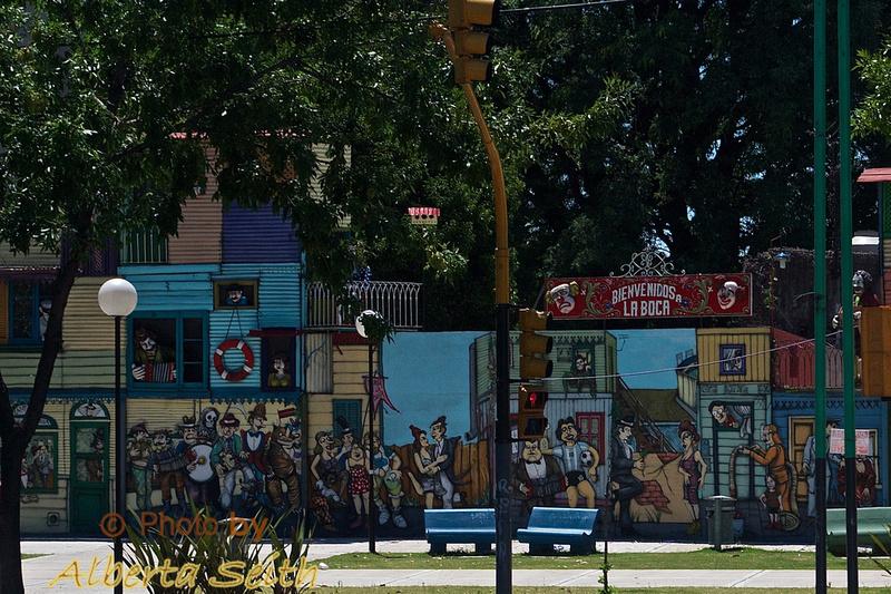 Street Murals Buenos Aries