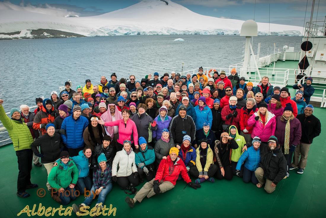 Antarctica Group Shot