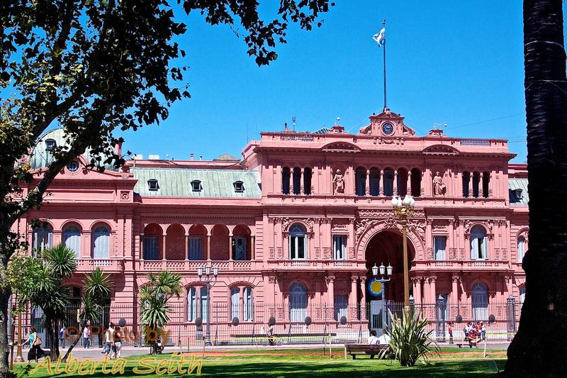 La Casa Rosada, Buenos Aries