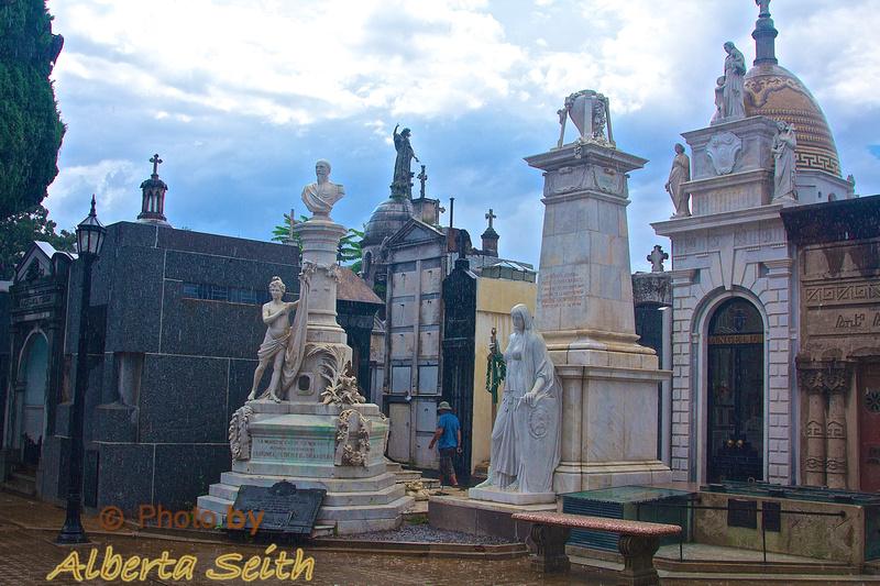 Recoleta Cemetery in Buenos Aries