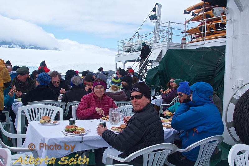 Lunch at Port Lockroy