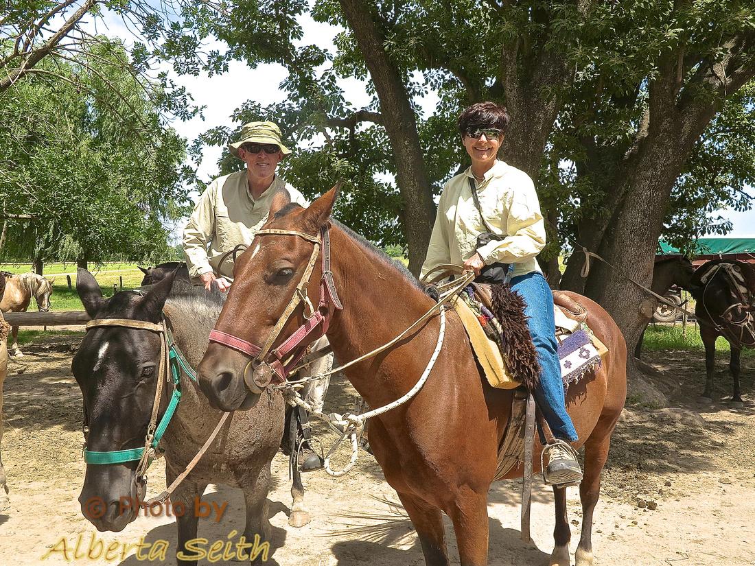 First Trail Ride, Estancia El Umbu de Areco