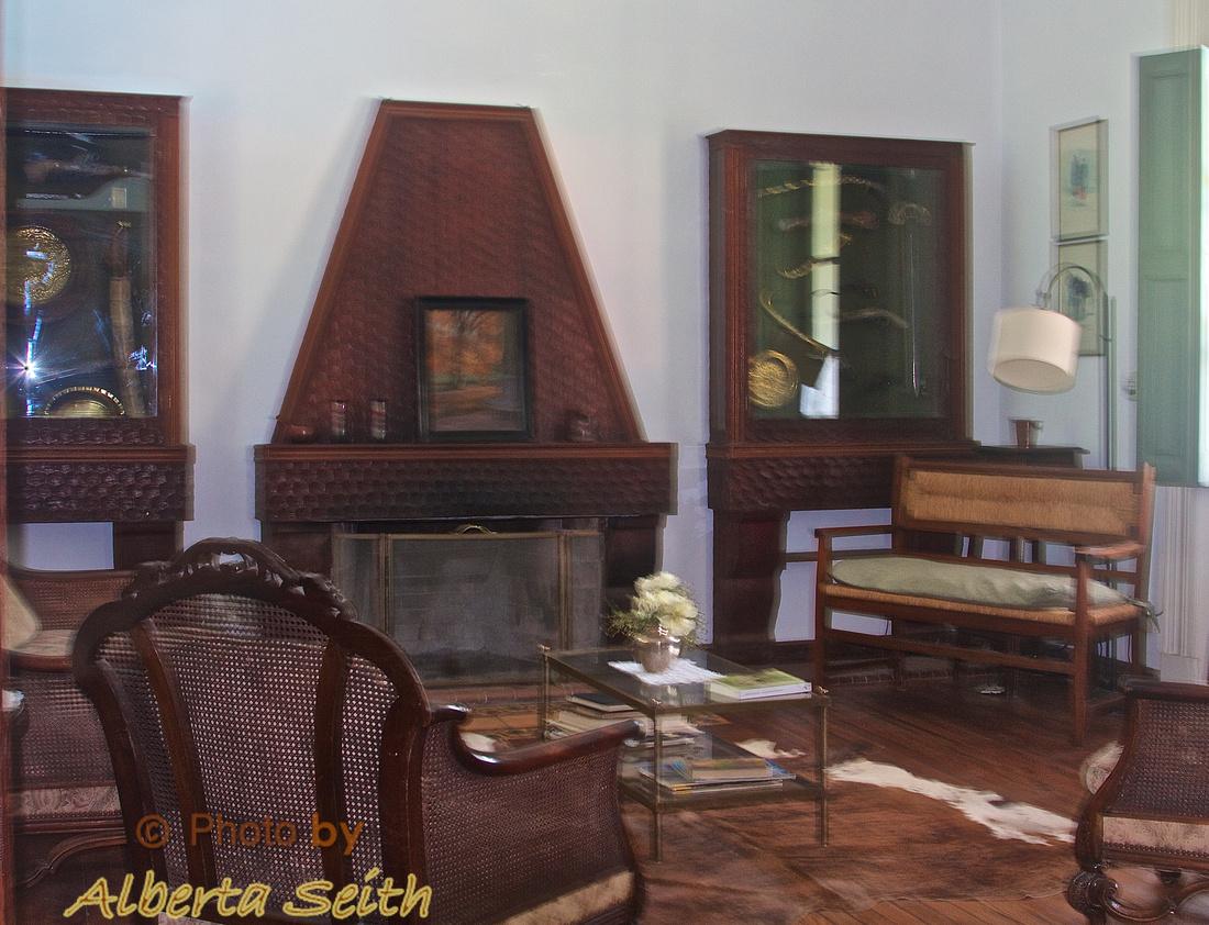 Sitting room in the Estancia El Umbu de Areco