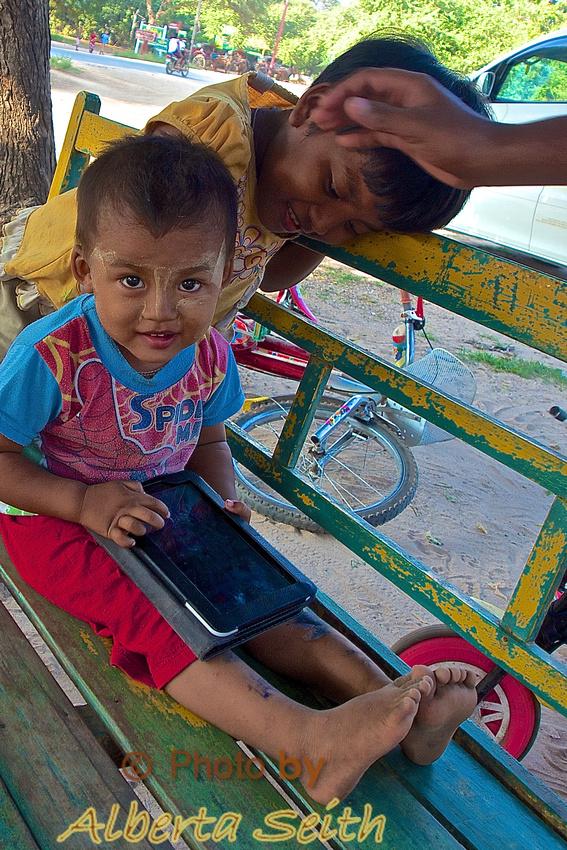 Child in Bagan