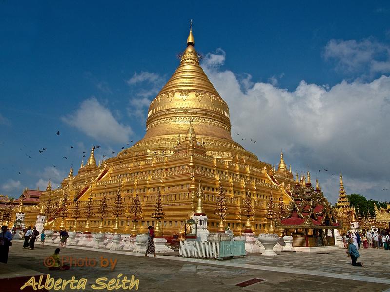Shwe Zi Gon Pagoda-Bagan