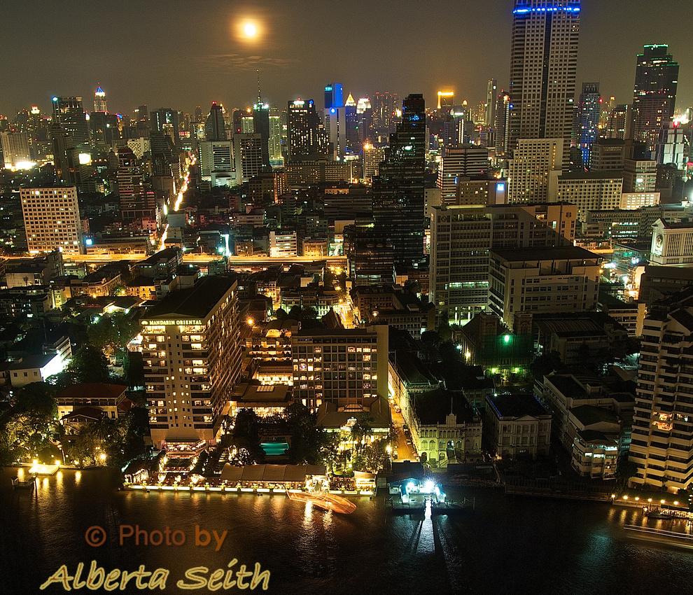 Bangkok by Moonlight