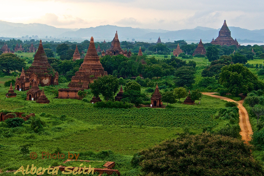 Early Morning on Top of a Bagan Pagoda