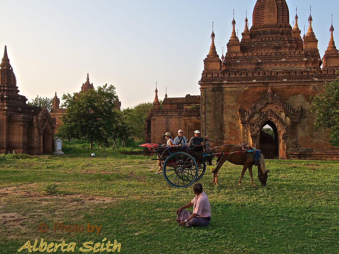 Carriage Ride among the Temples