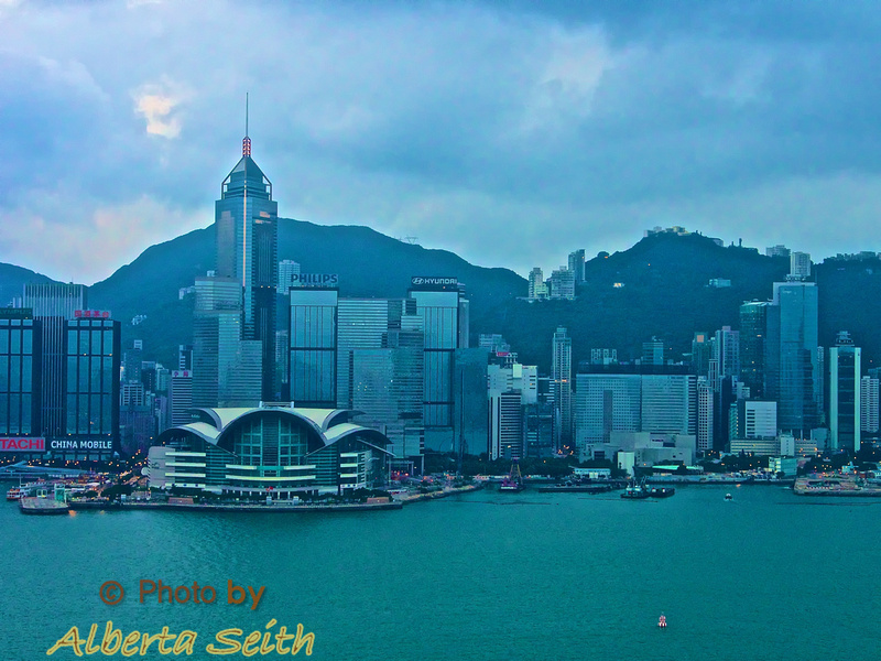Victoria Harbour from Peninsula Hotel