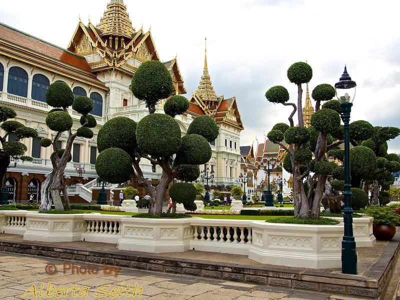Central Garden at The Grand Palace- Bangkok