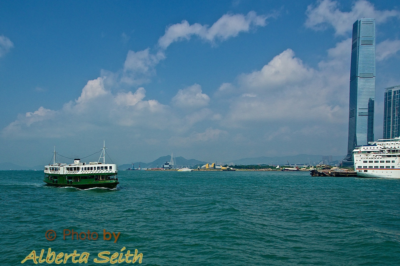 Star Ferry across Victoria Harbour